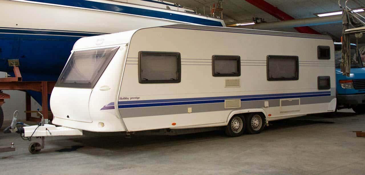 Picture of: Opbevaring Af Campingvogn Hele Aret Hos Alshaller Dk